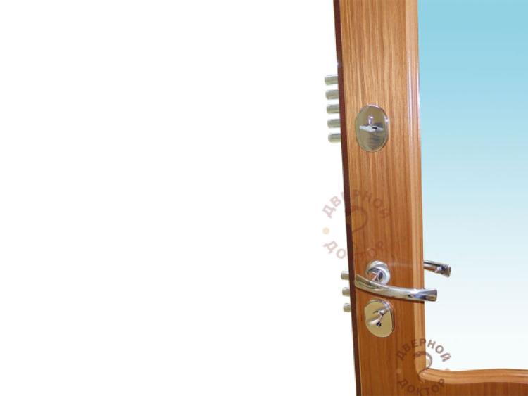 дверь входная с зеркалом внутри