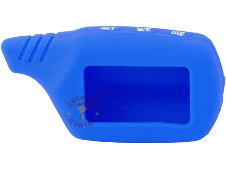 синий силиконовый чехол