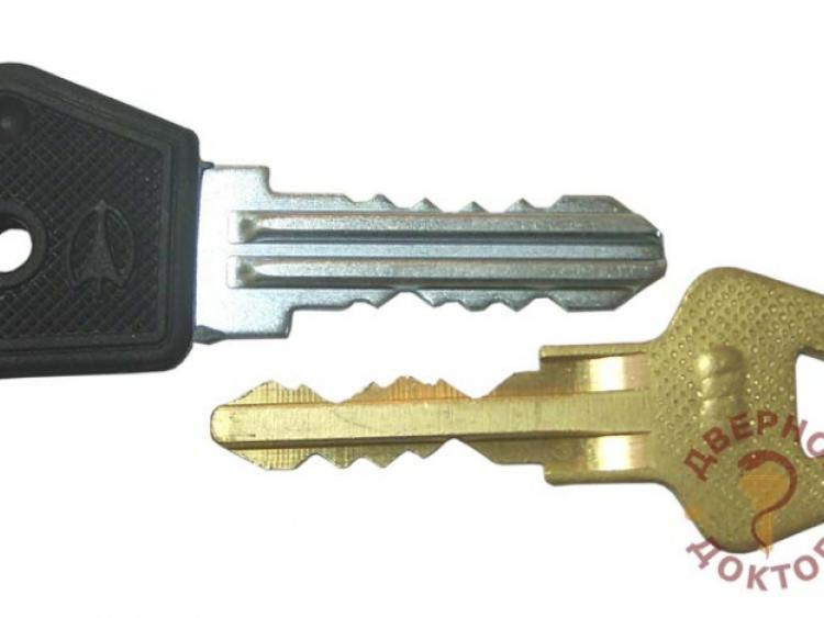 Английский двухсторонний ключ