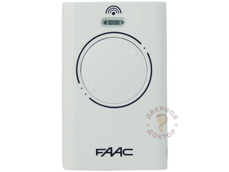 Пульт FAAC 868 XT2 SLH белый