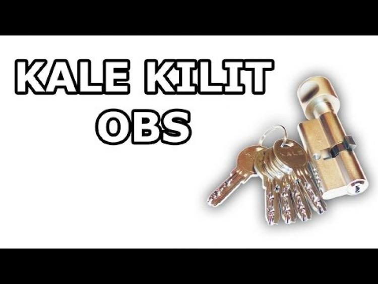 Embedded thumbnail for Цилиндр Kale Kilit серии OBS