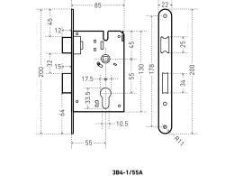 Аллюр ЗВ4-1/55А размеры