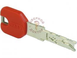 Красный ключ цилиндра EVVA 4KS