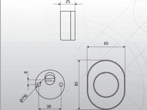Disec MR-129 размеры