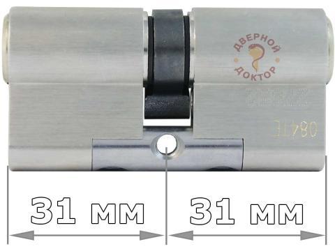 EVVA 3KS 31+31 ключ-ключ