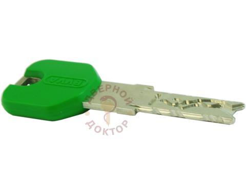зеленый ключ цилиндра EVVA 4KS