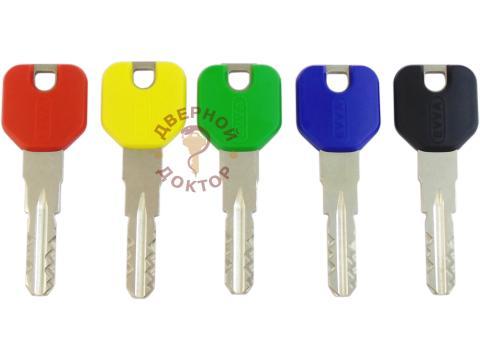 EVVA ICS ключи с пластиковой головкой