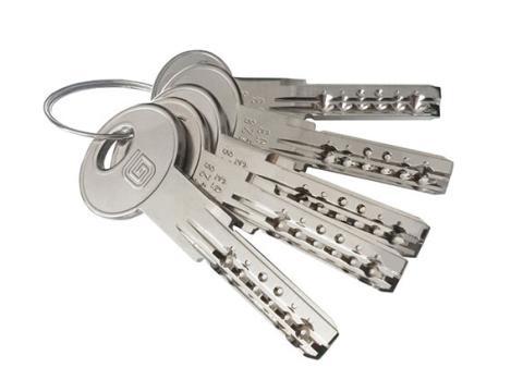ключи от цилиндра Гардиан High