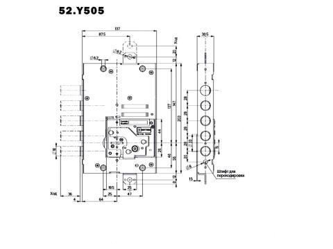 Mottura 52Y505 размеры
