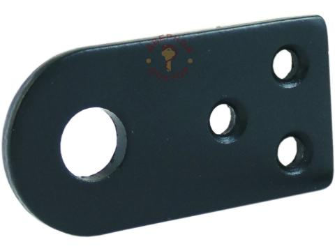 Прямая проушина для навесного замка 5 мм