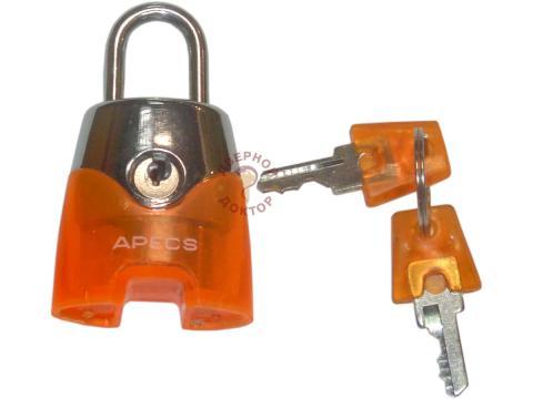Замок навесной для сумок А оранжевый
