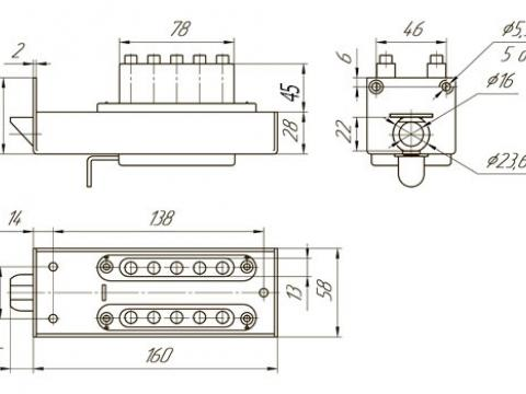 размеры замка ЗКП-2 Меттэм