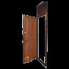 металлическая дверь с фрамугой