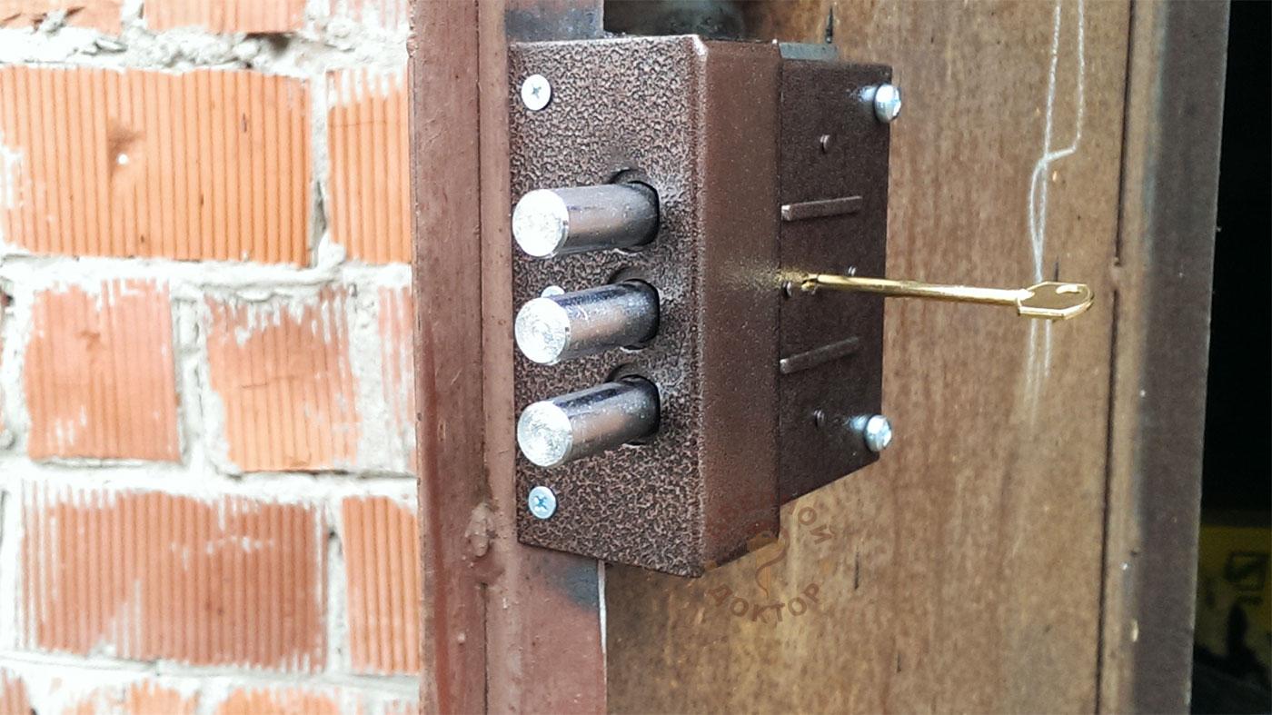 Электрозамок своими руками на ворота 63