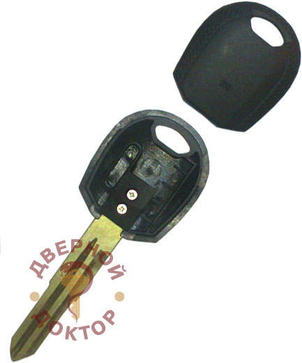 как достать иммобилайзер из ключа киа