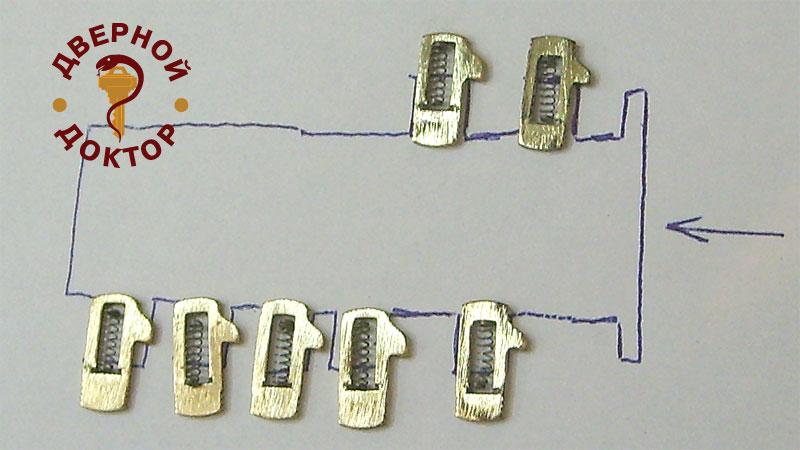 386Как сделать слепок ключа по ключу