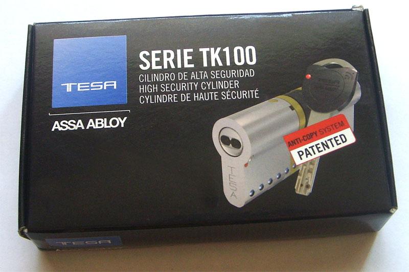 Tesa tk100 for Cerraduras tesa anti bumping