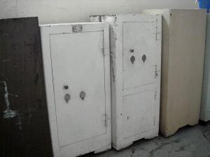 старые советские сейфы