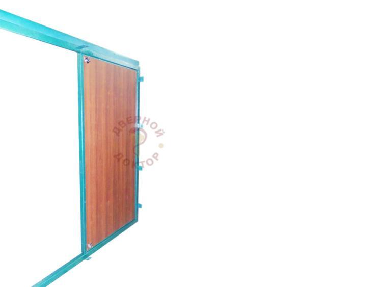 металлическая дверь со второй створкой