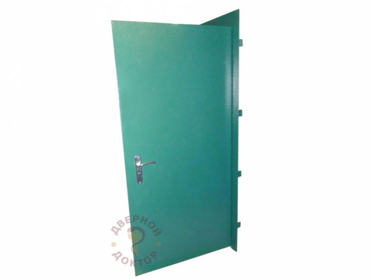 дверь с двумя открывающимися створками