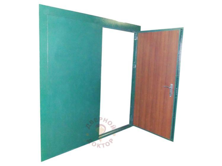 двухстворчатая дверь на заказ