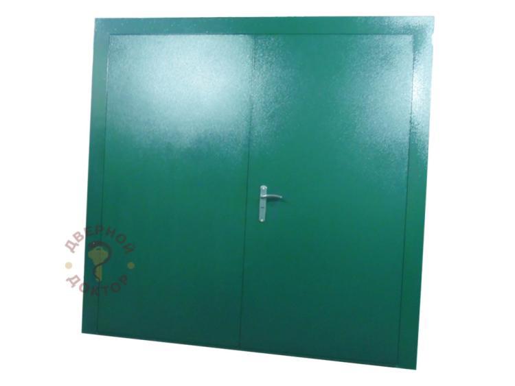 широкая стальная дверь на заказ