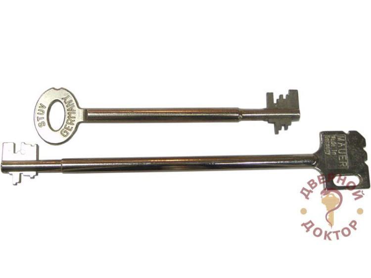 Сейфовый ключ сувальдный