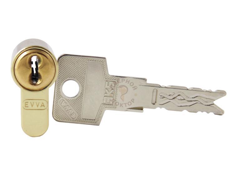 EVVA 3KS профиль и нарезка ключа
