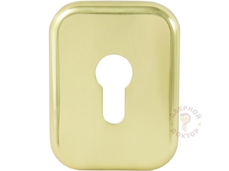 Прямоугольная золотая декоративная накладка