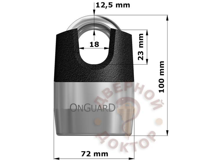 OnGuard 5101 размеры