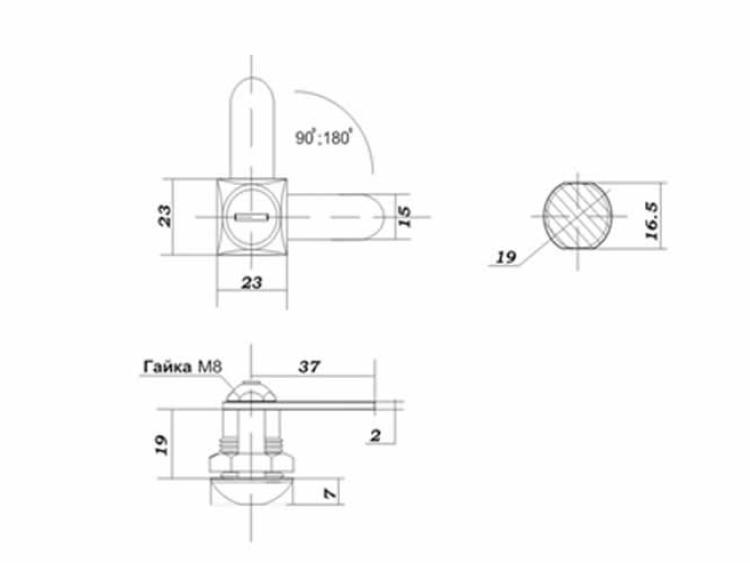 eurolock 20 мм размеры