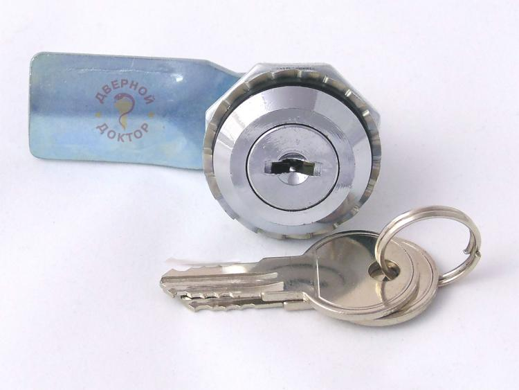 щитовой замок с ключом